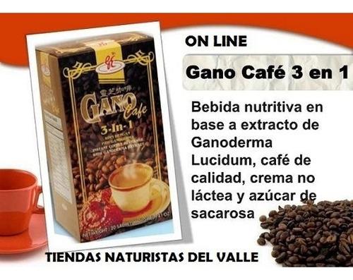Gano Cafe 3 En 1 Original Cancer Ganoderma Lucidum