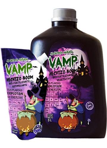 Vamp Hechizo Boom 450 Ml Fertilizante Crecimiento Organico