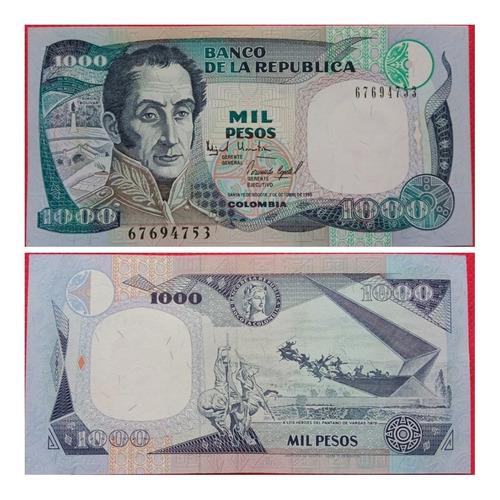 Billete De 1000 Pesos. 1.995.