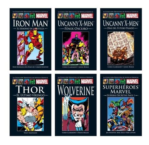 La Coleccion Definitiva De Novelas Graficas De Marvel Salvat