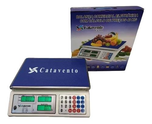 Balança Digital Eletrônica Comercial Bvolt 40kg