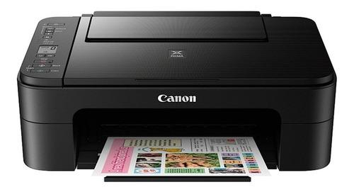 Impresora A Color Canon Pixma Ts3110 Con Wifi Negra 127v/220v