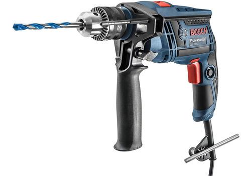 Furadeira De Impacto 650w Gsb13 Bosch Azul - 110v