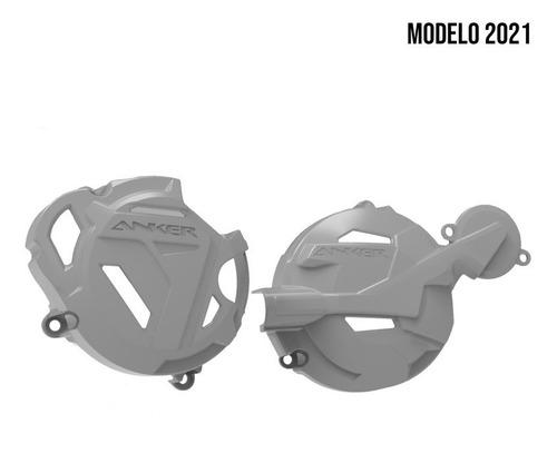 Par Protetor Tampas Laterais Do Motor Honda Crf 250f Anker