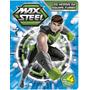 Livro Quebra Cabeça Max Steel Os Heróis Da Equipe Turbo