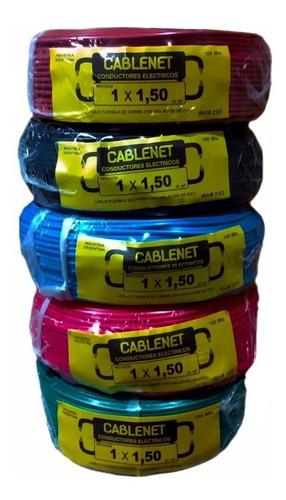 Cable Unipolar Normalizado 1 X 1.5 Cablenet