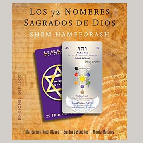 Los 72 Nombres Sagrados De Dios Libro + Cartas