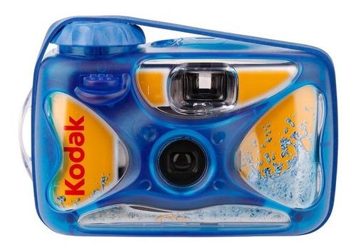 Câmera Descartável Kodak Sport Prova D'água 27 Poses