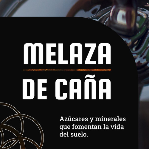 Melaza De Caña - 1 L / 1.5 Kg Bio Boost Organico Natural