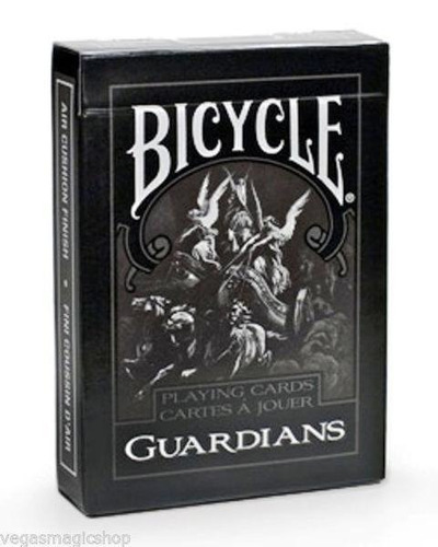 Baralho Bicycle Preto Guardians Theory11