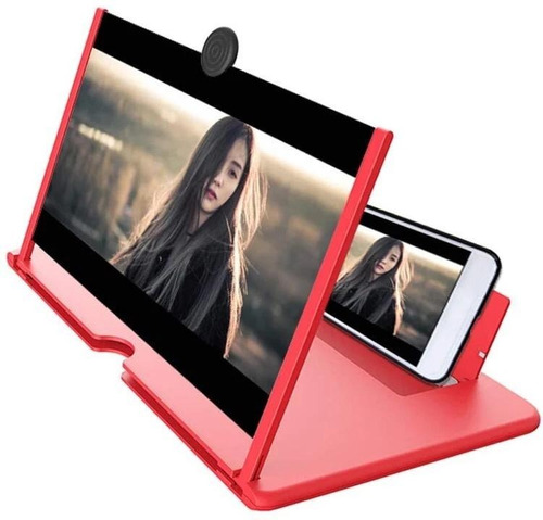 Amplificador Imagen Lupa Pantalla Celular 3d Clase Virtuales