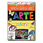 Meu Livro De Arte Para Colorir Adesivos