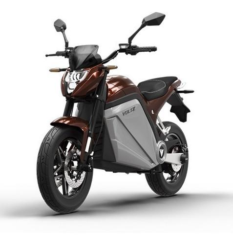 Moto Elétrica Evs Voltz Motors Marrom - Uma Bateria