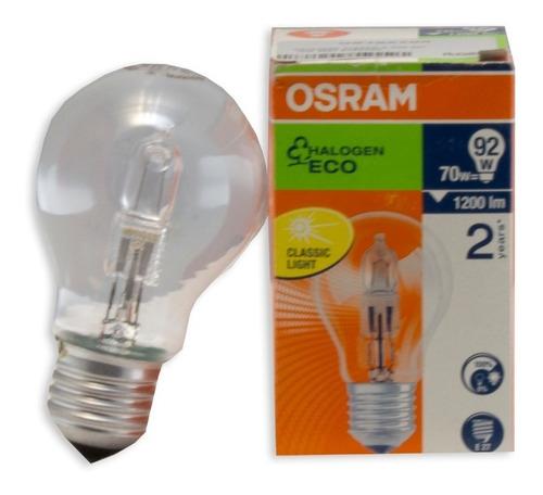 Foco Halógen Eco Classic A Osram 70w 230v - Ecart