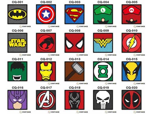 01 Placa 21x21 Super Heroi Quadro Em Relevo