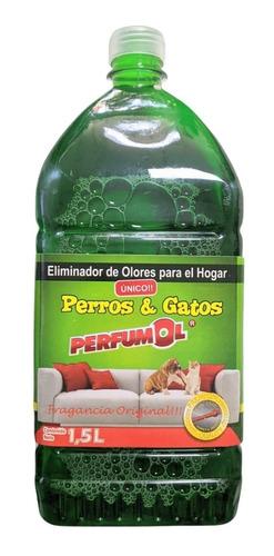 Eliminador De Olores Perros Y Gatos 1.5 Litros Perfumol