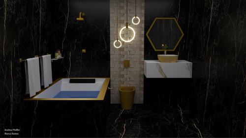 Designer De Interiores Planejamento Banheiro 1 A 24m2