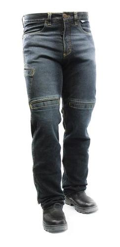 Calça Jeans Com Proteção Motociclista Hlx Spirit