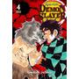 Mangá Demon Slayer Kimetsu No Yaiba 4 (português)