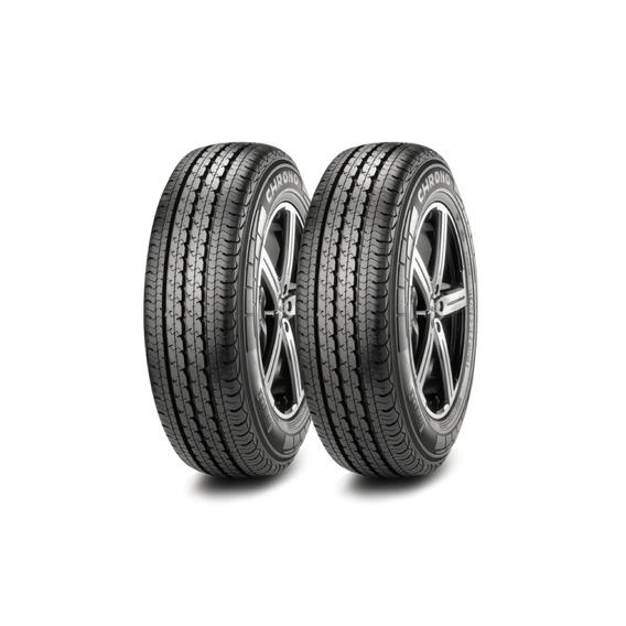 Kit X2 Pirelli 195/75 R16 Chrono Neumen Ahora18