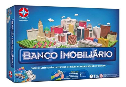 Jogo De Mesa Banco Imobiliário Com Aplicativo Estrela