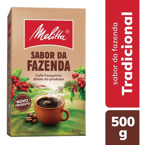 Café Torrado E Moído Melitta Sabor Da Fazenda A Vácuo - 500g