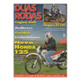 Duas Rodas Nº255 Honda Xlr 125 Yamaha Xt 225 Cagiva W16 600
