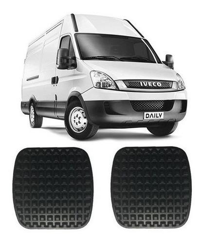 Furgão Mini Van E Caminhão Iveco Daily De 2007 À 2012 Kit Com 2 Capas Dos Pedais Freio E Embreagem Ref. 8956/8970