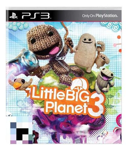 Littlebigplanet 3 Sony Ps3  Físico
