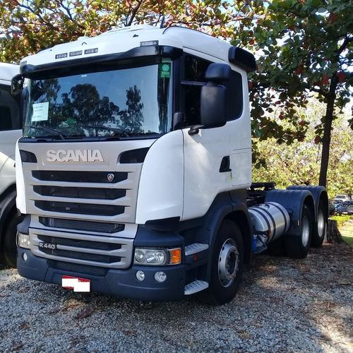 Scania R 440 18/18 6x2 Com Retarder 108