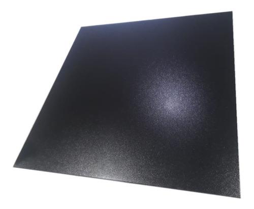 Porcelanato Brillante Semi Pulido Negro Lux 58x58 Rectif 2da