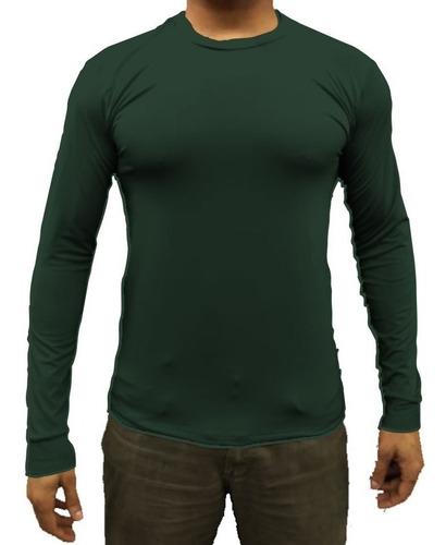 Camiseta Térmica Masculina Segunda Pele Proteção Uv 50