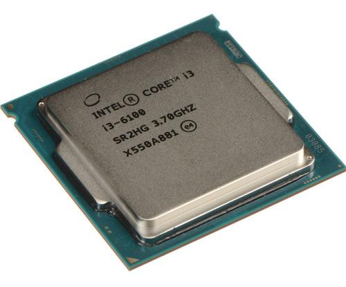 Processador Gamer Intel Core I3-6100 Cm8066201927202 De 2 Núcleos E 3.7ghz De Frequência Com Gráfica Integrada