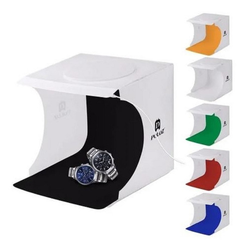 Caixa Luz Difusora Light Box Estúdio / One Led / 6 Fundos