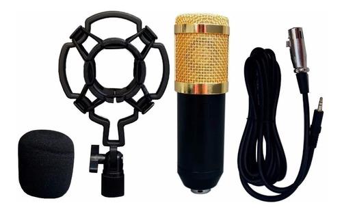 Microfone Condensador Bm800 Profissional Youtube Estúdio A9