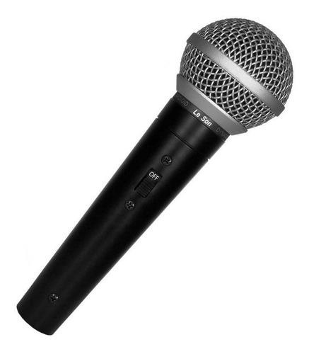 Microfone Sm50 Vk Vocal Profissional / Cabo P10 Leson