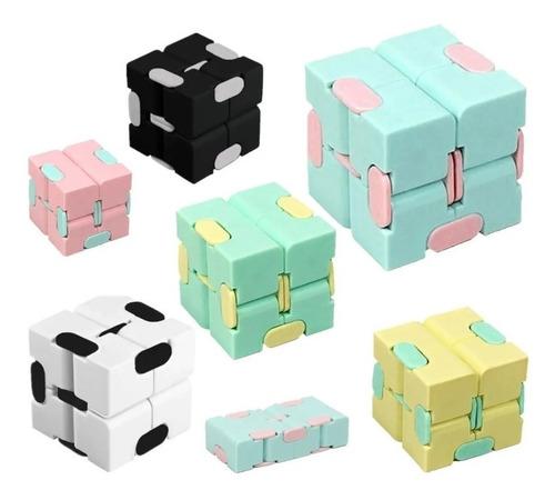 Fidget Toy Infinity Cube Cubo Infinito Anti-stress Popit