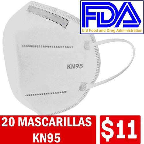 Mascarilla Kn95 Importada Quito Stock N95 4 Y  5 Capas Fda