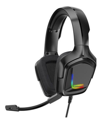 Gamer Onikuma K20 Led Rgb Advanced 4d Microphone Headphones - Ecart