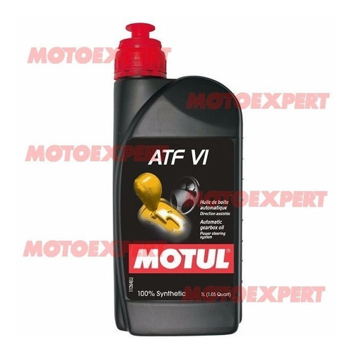 Aceite De Caja De Cambios Automática Atf Vi 1 Litro Motul