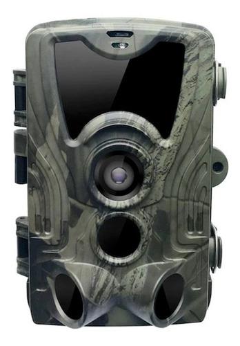 Câmera Trilha Caça Camping Infravermelho 1080p 16mp Hc-801a