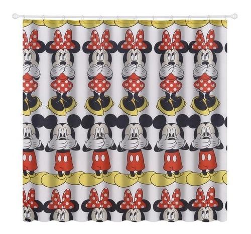 Cortina  Mickey Mouse E Minniede Box 180x180cm