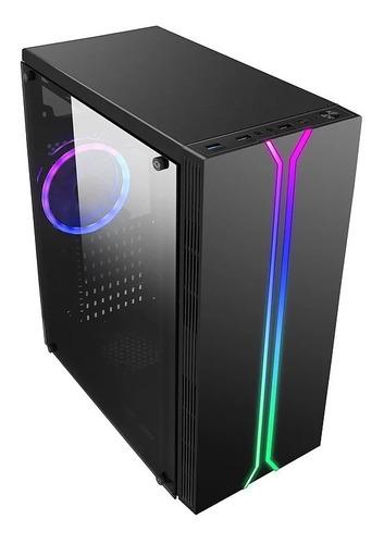 Gabinete Gamer Liketec Rainbow Rgb Mid Tower