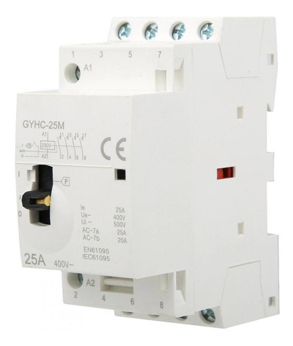 Contactor Ca 4p 25a 220v 50hz Pequeño De Uso Doméstico