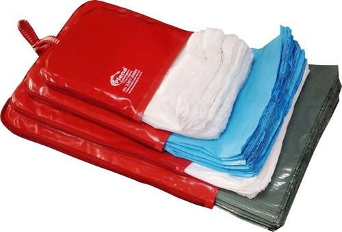 Porta Sacolas Plásticas 4 Tamanhos Kit 03 Peças