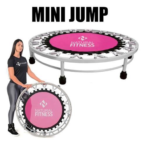 Cama Elástica Mini Jump Profissional 150kg Academia Studio