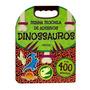 Livro Minha Mochila De Adesivos Dinossauros