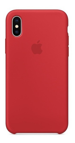 Funda Silicone Case Para El iPhone X - (product)red