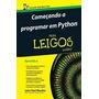 Livro Começando A Programar Em Python Para Leigos