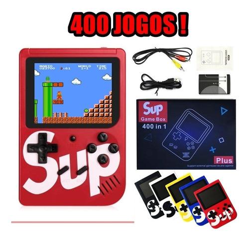 Videogame E Minigame 8 Bits Com 400 Jogos + Controle + Rca